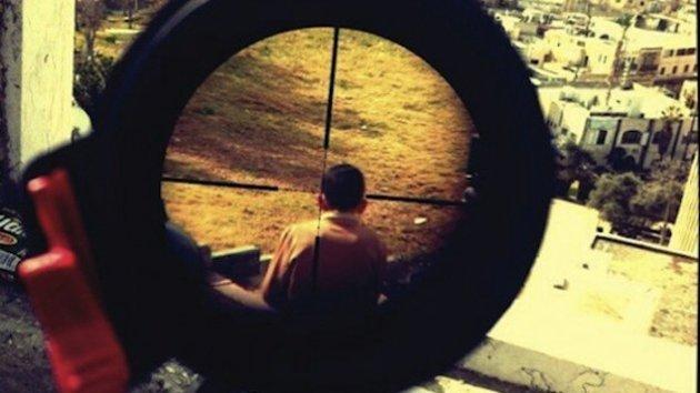 Polémica foto publicada por un soldado