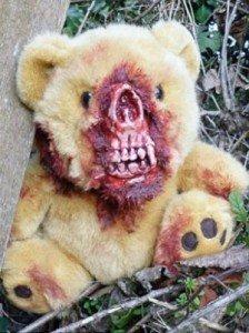 Nuevo furor: Ositos de peluche zombies