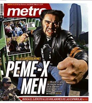 Ésta es la polémica tapa del periódico Metro sobre Pemex