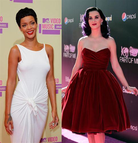 Por qué el distanciamiento entre Rihanna y Katy Perry