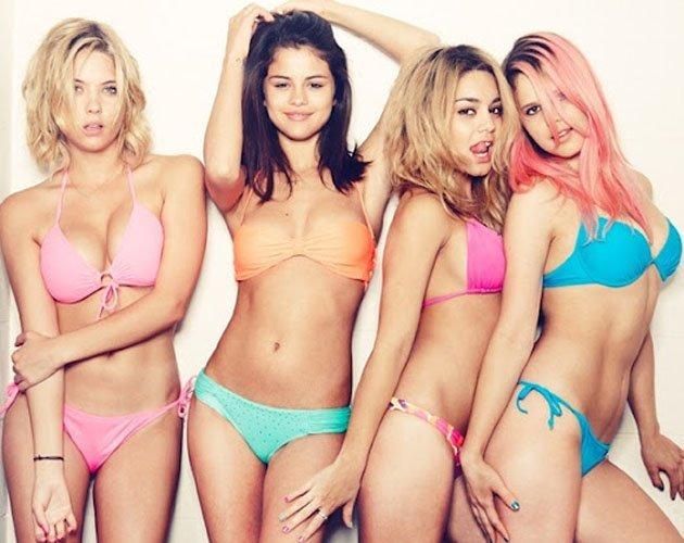 Foto prohibida de Selena Gómez en 'Spring Breakers'