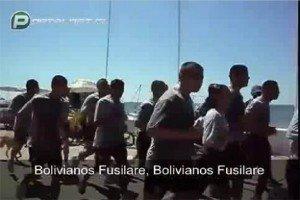Video terrible: los cantos xenófobos de la Armada chilena