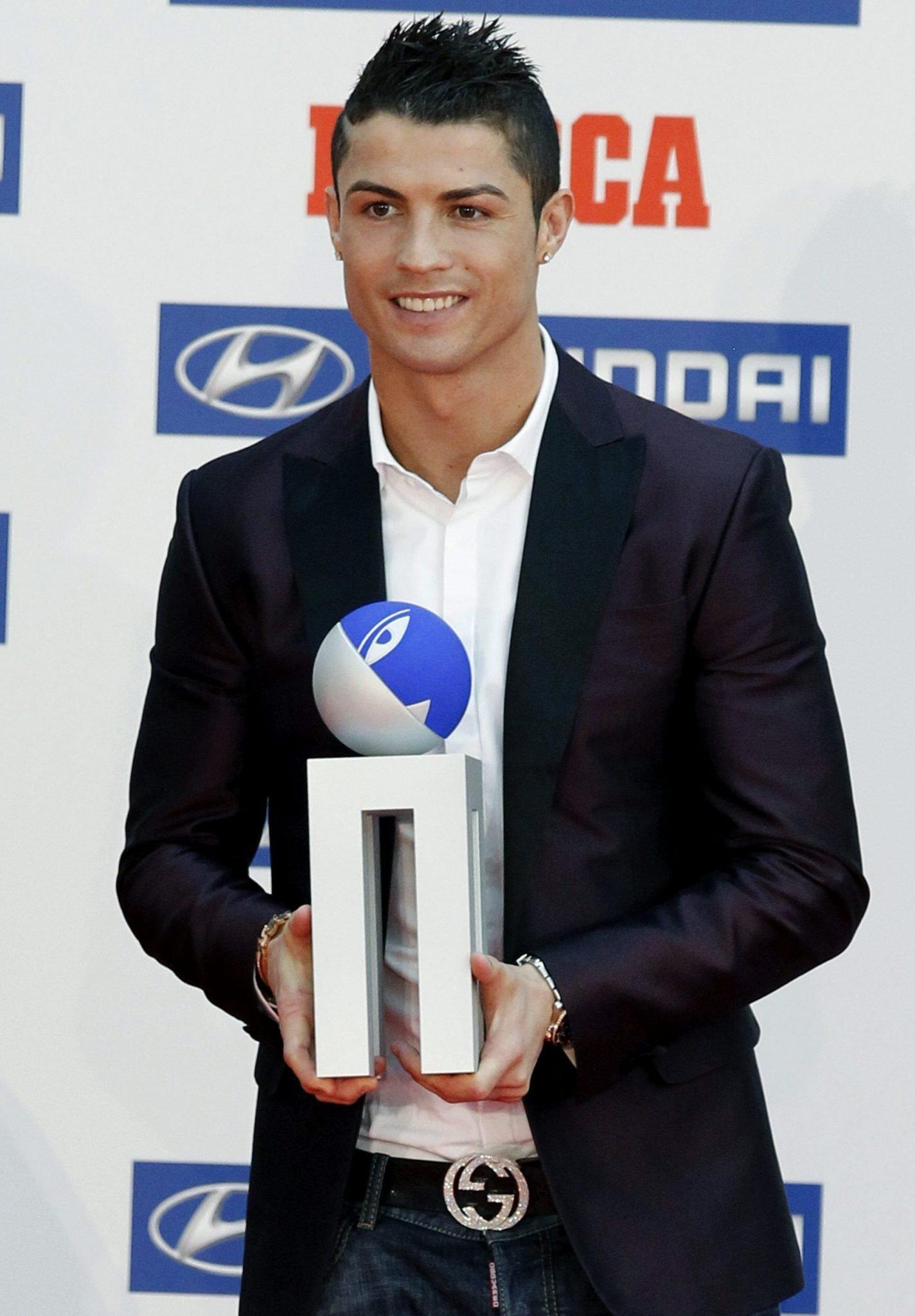 Cristiano Ronaldo obtiene el Premio Alfredo Di Stéfano