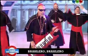 Video imperdible: La cumbia del Papa