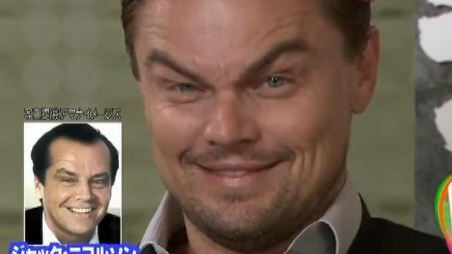 Video Leo Di Caprio imita a Jack Nicholson