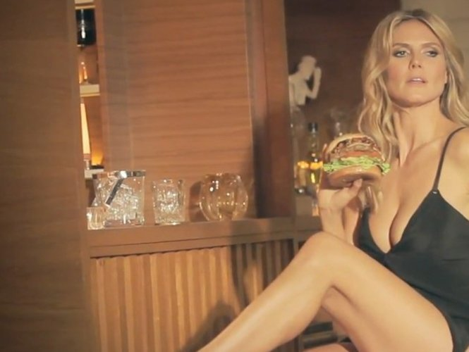 Video imperdible: Heidi Klum como quisieras tenerla