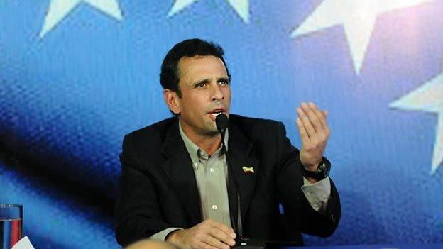 Capriles a Maduro: 'No te voy a dejar el camino libre'