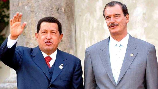 Cómo fue la relación México-Hugo Chávez