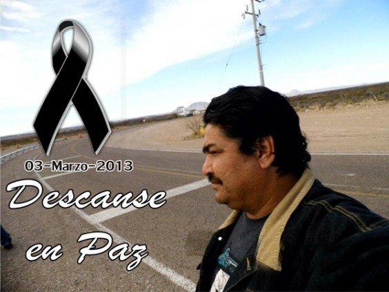 Matan con 18 tiros a un periodista en Chihuahua