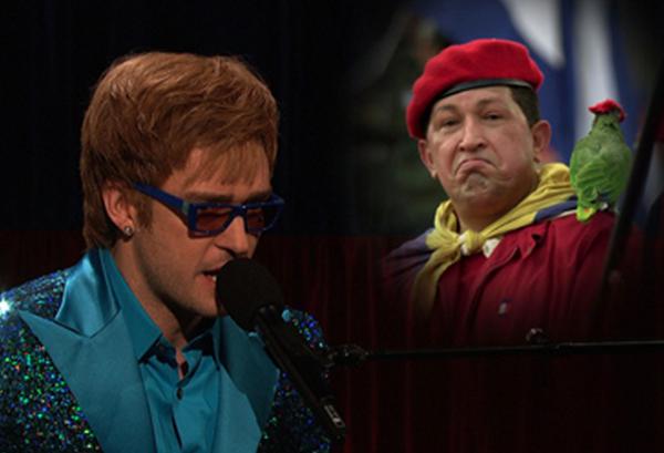 Video: Parodia de Justin Timberlake sobre Hugo Chávez