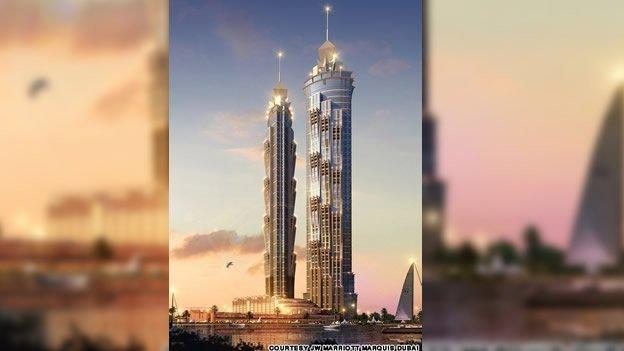 Inauguración del hotel más alto del mundo en Dubai