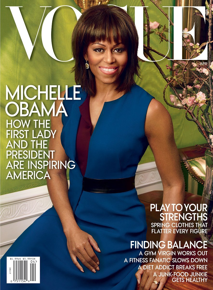Michelle Obama portada de Vogue - Fotos