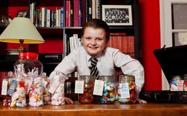 Conoce al niño de nueve años que ya fundó tres empresas