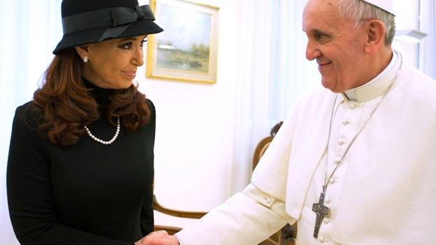 Así fue la reunión del Papa Francisco y Cristina Fernández