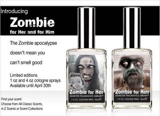 Así actúa el perfume contra el apocalipsis zombi