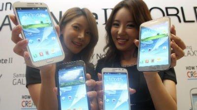 Phablets: la nueva moda en teléfonos móviles