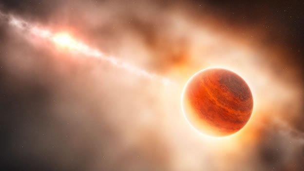Científicos observan un planeta en formación
