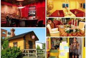 Cómo son y dónde están los restaurantes más pequeños del mundo