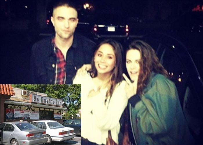 Foto: Robert Pattinson y Kristen Stewart juntos otra vez