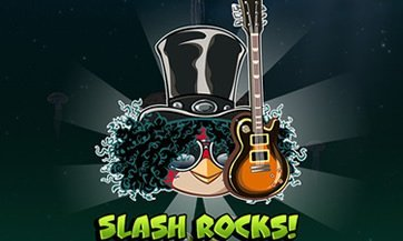 Slash en Angry Birds