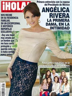 Angélica Rivera rompió el silencio