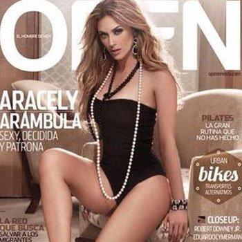 Aracely Arámbula de infarto en revista Open