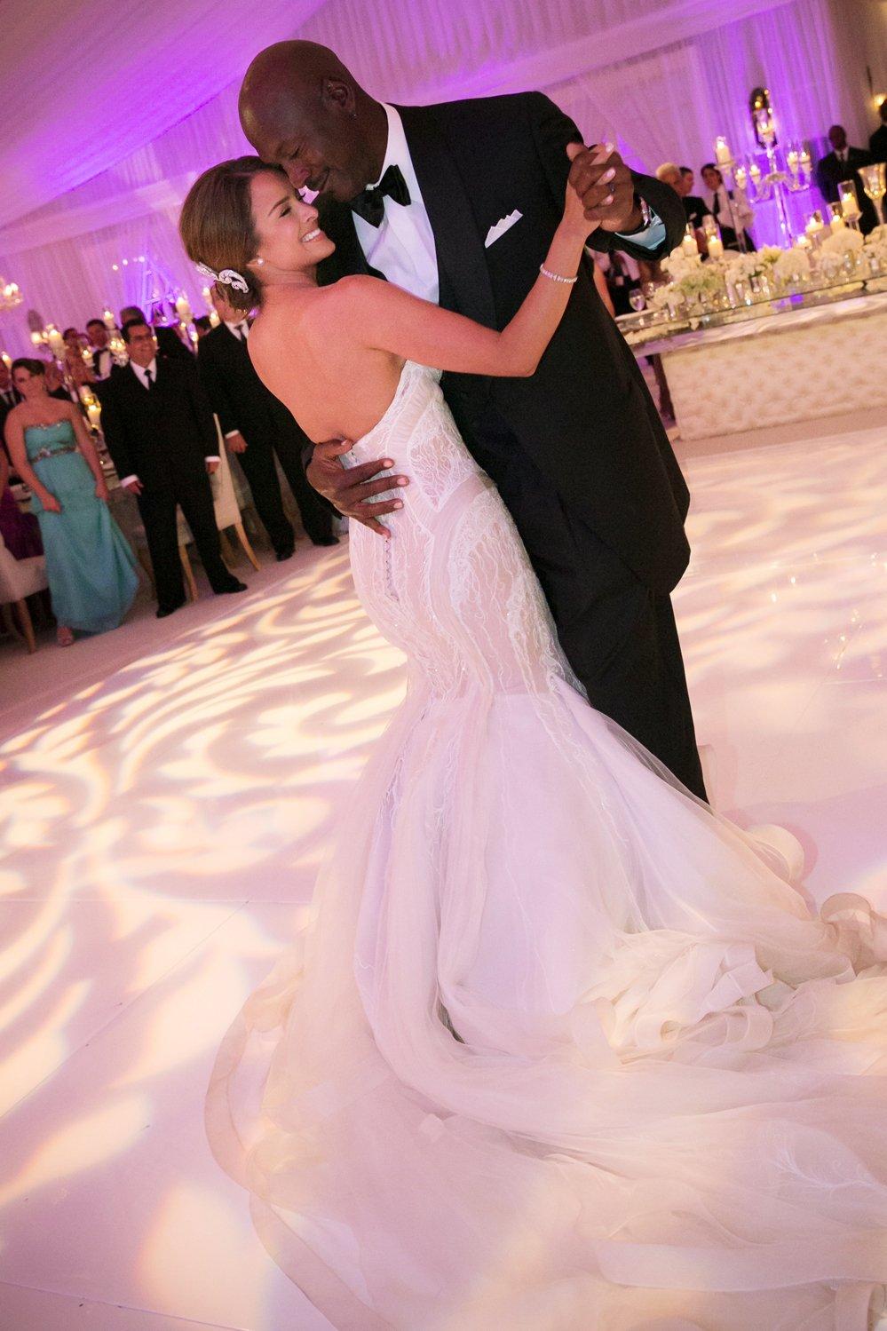 La súper boda de Michael Jordan e Yvette Prieto - Fotos