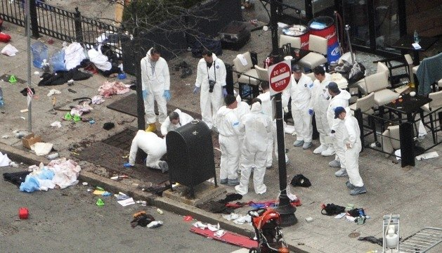 El ADN de una mujer, presente en los restos de la bomba de Boston