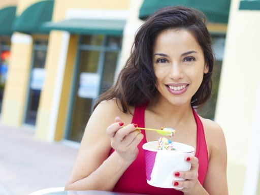 Los riesgos de comer helado descremado