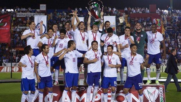 Cruz Azul es campeón de la CopaMX
