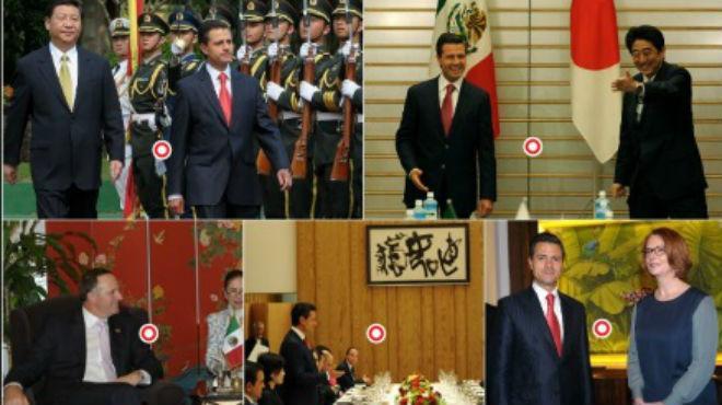 ¿Qué hizo Enrique Peña Nieto en Japón y China?