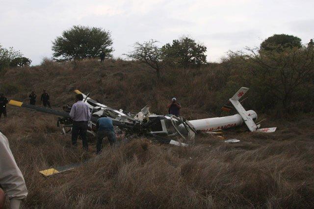 Cuatro muertos al desplomarse un helicóptero de Servicios de Salud