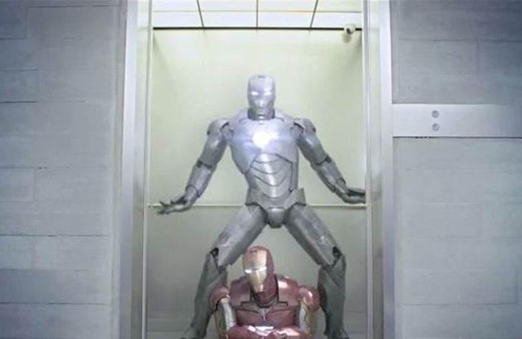 Video imperdible: 'Iron Man' al ritmo del Gangnam Style