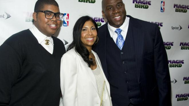 Video: El hijo de Magic Johnson admite su homosexualidad