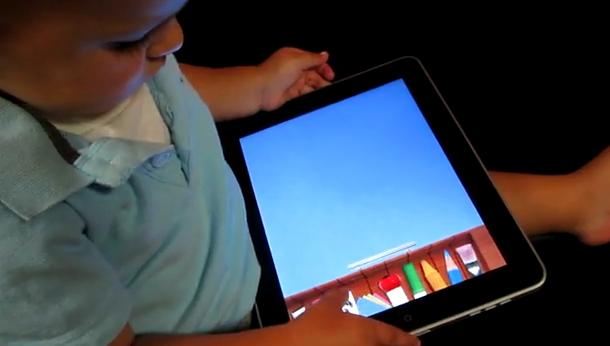 Niña de 4 años internada por adicta al iPad
