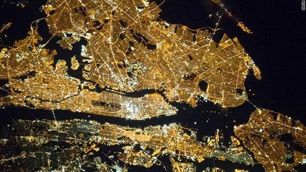 Foto: Así se ve Nueva York desde el espacio