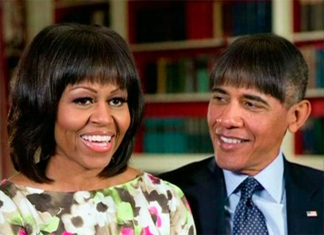 Fotos y video: El cambio de look de Barack Obama