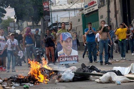 Siete muertos en Venezuela por enfrentamientos tras elecciones