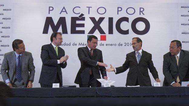Conoce la primera crisis en el Pacto por México