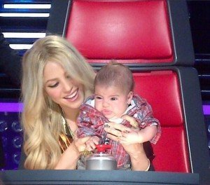 Shakira lleva a Milan a 'The Voice' - Fotos