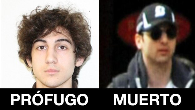 Murió un sospechoso por los ataques en Boston y el otro está prófugo - Fotos