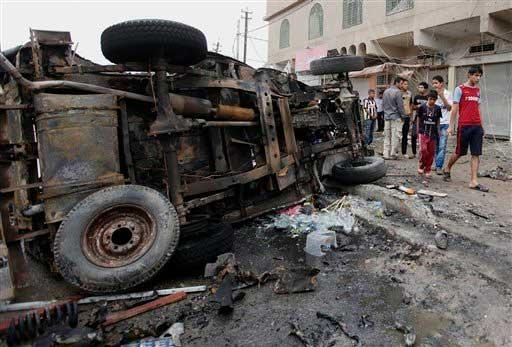 Ataques con coches bomba en Irak deja 70 muertos