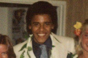 Foto de Barack Obama adolescente