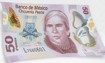 Así es el nuevo billete de 50 pesos