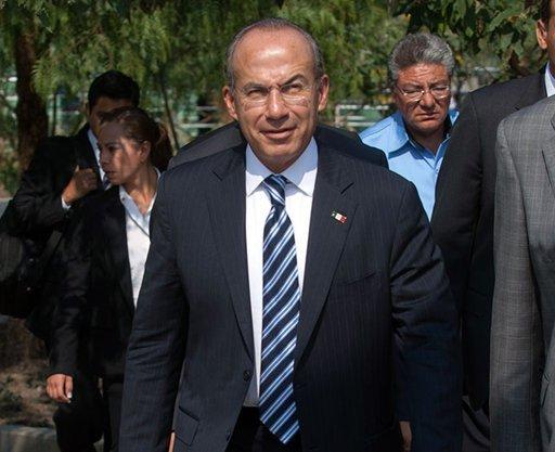 El nuevo empleo de Felipe Calderón