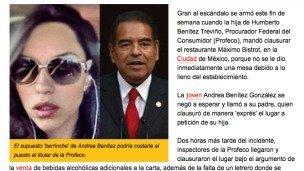 Los escándalos y excesos de las hijas de los políticos