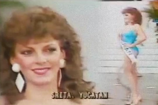 Video: #LadySenado participando en certamen de belleza