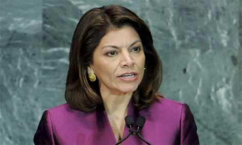 La presidenta de Costa Rica viaja con avión de narco