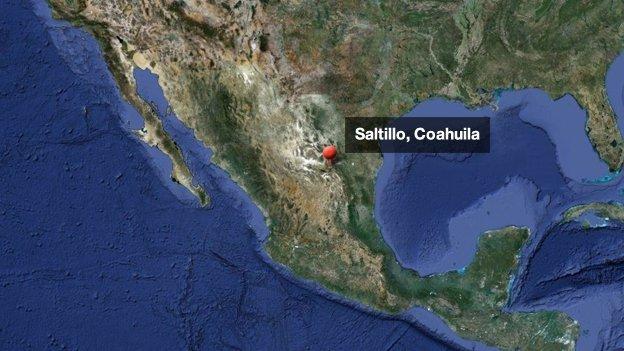Hombre tirotea el Palacio de Gobierno de Coahuila