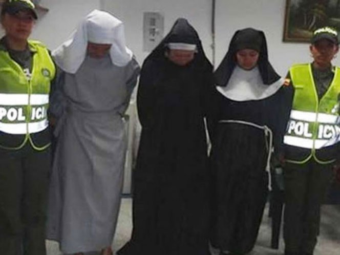Detienen a tres monjas por traficar drogas - Video